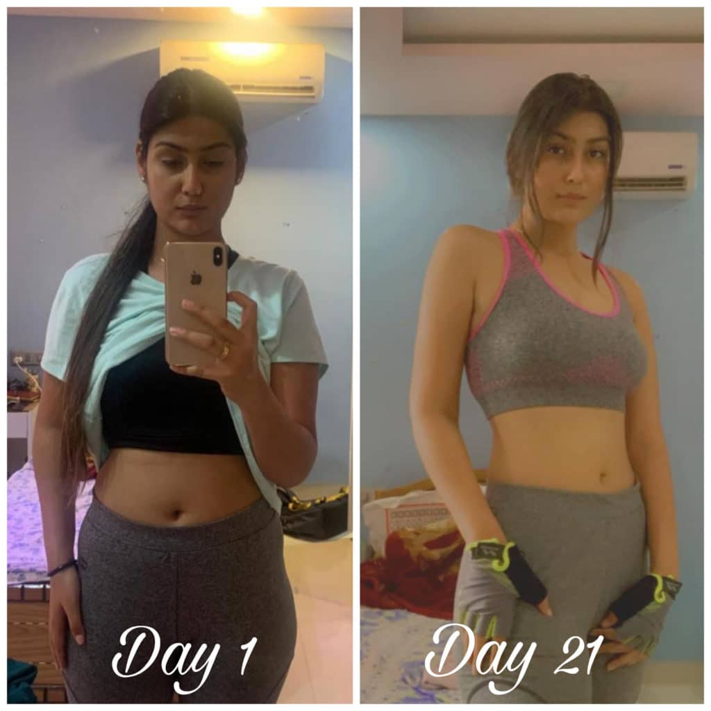 Shivani Tak Fitness Transformation by Its All About Journey