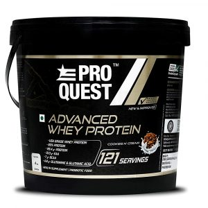 ProQuest Advanced Whey Protein 4 kg (121 Servings)