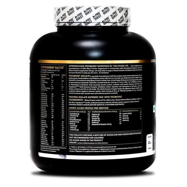 Proquest Whey Protein Isolate 2KG 2