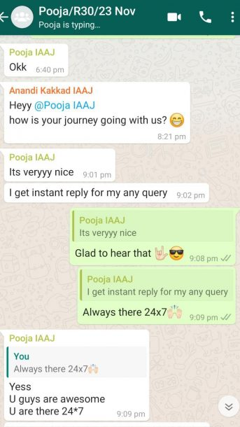 Pooja-Its-All-About-Journey-Testimonial
